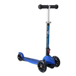 ΑΘΛΟΠΑΙΔΙΑ Kids Scooter With 3 Wheels And Lights - Blue 002.61119/M 9985777000464