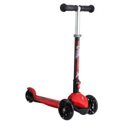ΑΘΛΟΠΑΙΔΙΑ Kids Scooter With 3 Wheels And Lights - Red 002.61119/K 9985777000471