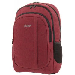 POLO Backpack Multi-Compartment Whizz Red 2019 - Colour 30 901259-30 5201927101367