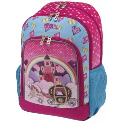 POLO Kindergarten Backpack Primary Castle Pink 2019 - Colour 19 901247-19 5201927101480