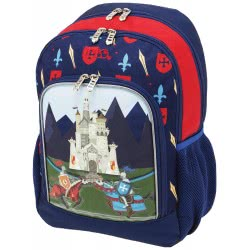 POLO Kindergarten Backpack Primary Castle And Knights 2019 - Colour 21 901247-21 5201927101466