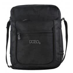 POLO Shoulder Bag Vertical Large Black - Colour 02 907072-02 5201927081928