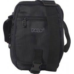POLO Shoulder Bag Vertical Medium Black - Colour 02 907071-02 5201927081904