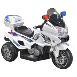 Skorpion Wheels Kids Electric Motorcycle Police 12 Volt 5245025 5201670395518