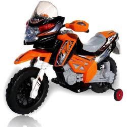 Skorpion Wheels Kids Electric Motorcycle Cross KTM Style 12Volt - Orange 5245017 6995552450172