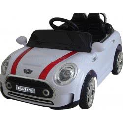 Skorpion Wheels Kids Electric Car Mini Cooper Style 12Volt - White 5246011 6995552460119
