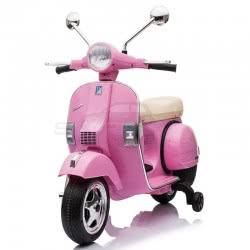 Skorpion Wheels Παιδική Ηλεκτροκίνητη Μηχανή Vespa Piaggio Original 12V - Ροζ 5245050P 5202200001947