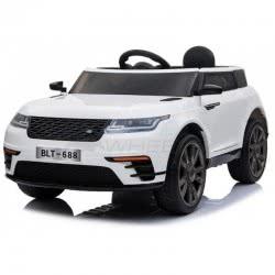 Skorpion Wheels Kids Electric Car Range Rover Velar Style 12V - White 5246054 6995552460546