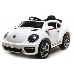 Skorpion Wheels Kids Electric Car Beetle Style 12V - White 5246020W 5201670362480