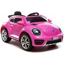 Skorpion Wheels Παιδικό Ηλεκτροκίνητο Αυτοκίνητο Beetle Style 12V - Ροζ 5246020P 5202200001961