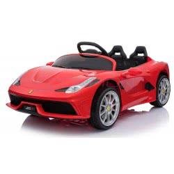Skorpion Wheels Παιδικό Ηλεκτροκίνητο Αυτοκίνητο Ferrari 488 Style 12Volt - Κόκκινο 5246088 5201670385311