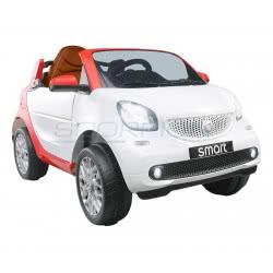 Skorpion Wheels Παιδικό Αυτοκίνητο Ηλεκτροκίνητο Smart For Two 12Volt Original - Λευκό 5246056 5201670399400