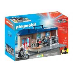 Playmobil Βαλιτσάκι - Αστυνομικό Τμήμα 5689 4008789056894