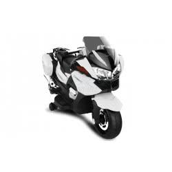 Skorpion Wheels Παιδική Μηχανή Skorpion 12V BMW R1200 RT Style Λευκη Με Βαλιτσες. 52450181 6995552450196