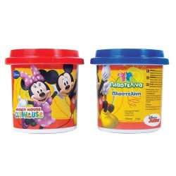 As company Mickey Mouse Clubhouse Dough Μονό Βαζάκι Πλαστελίνης Club House 1045-03510 5203068035105