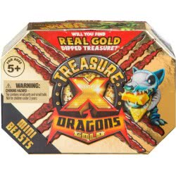 GIOCHI PREZIOSI Treasure-X S2 Mini Πλάσμα Gold Mini Beast Pack TRR07000 8056379079019