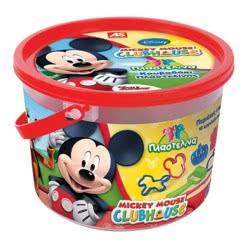 As company Mickey Mouse Clubhouse Dough Κουβαδάκι Με 4 Βαζάκια 2Οζ Και 10 Εργαλεία-2 Σχέδια -Mickey 1045-03516 5203068035167