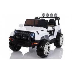 Skorpion Wheels Παιδικο Ηλεκτροκίνητο Αυτοκινητο Skorpion Jeep Wrangler 24V Style Λευκό 5248099 5201670865585