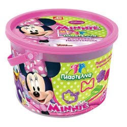 As company Mickey Mouse Clubhouse Dough Κουβαδάκι Με 4 Βαζάκια 2Οζ Και 10 Εργαλεία – 2 Σχέδια - Minnie 1045-03517 5203068035174