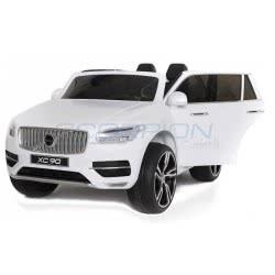 Skorpion Wheels Ηλεκτροκίνητο Παιδικο Αυτοκινητο Skorpion Volvo XC90 Original 12V Λευκό 5247091 6995552470910