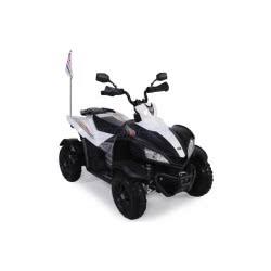 Skorpion Wheels Ηλεκτροκίνητη Παιδικη Μηχανη Skorpion 12V Γουρουνα DMD Λευκό-Μαύρο 5245068 5201670865387