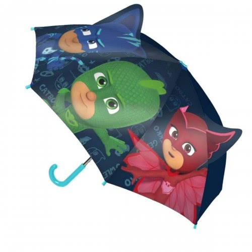 Cerda PJ Masks - Πιτζαμοήρωες Κατμπόι, Γκέκο, Ολέτ Ομπρέλα Παιδική 42 Εκ. - Μπλε 240000417 8427934228317