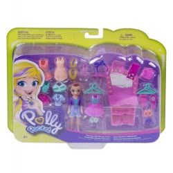 Mattel Polly And Friends With Accessories - Fiercely Fab Studio Pack GBF85 / GBF87 887961713800