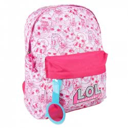 Cerda Kindergarten Backpack LOL Surprise With Magnifying Glass - Pink 2100002580 8427934274925