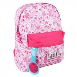 Cerda Kindergarten Backpack LOL Surprise With Magnifying Glass - Pink 2100002580 8427934274925