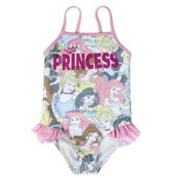 Cerda Disney Princess Μαγιό Ολόσωμο Πριγκίπισσες Μέγεθος 3-4 Ετών - Ροζ 2200003787 8427934263066
