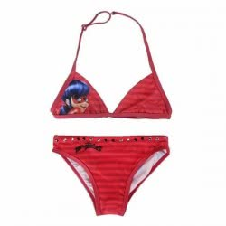 Cerda Miraculous Ladybug Bikini Size 9-10 Years - Red 2200002747 8427934172047