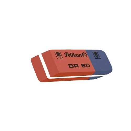 Pelikan Γομολάστιχα Κλασσική Μπλε-Κόκκινη Br80 619577 4012700619570