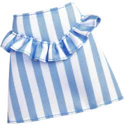 Mattel Barbie Fashions Skirt With Blue And White Lines FPH22 / FXH90 887961691955