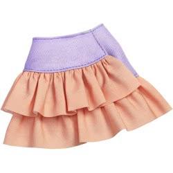Mattel Barbie Fashions Φούστα Μωβ Και Πορτοκαλί FPH22 / FXH91 887961692006