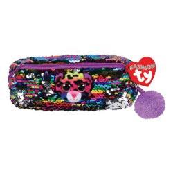 Sequin Dotty Pencil Bag Plush 1607-95850 008421958504