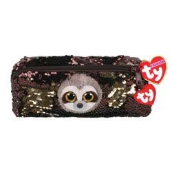 ty Fashion Sequin Plush Pencil Case Sloth Dangler 1607-95851 008421958511