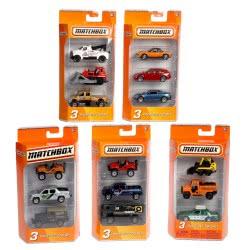 Mattel Αυτοκινητάκια - Σετ Των 3 C3713 027084108897