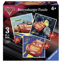 Ravensburger Disney Pixar Παζλ 3 Σε 1 Cars 06925 4005556069255
