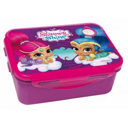 GIM Shimmer And Shine Lunch Box For Use In Microwave Oven 555-35265 5204549117136