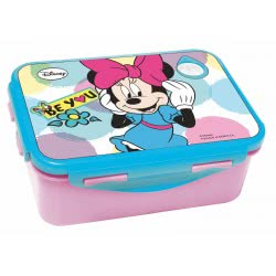 GIM Disney Minnie Be Lunch Box For Use In Microwave Oven 553-60265 5204549117044
