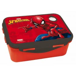 GIM Spiderman Lunch Box For Use In Microwave Oven 557-39265 5204549117204