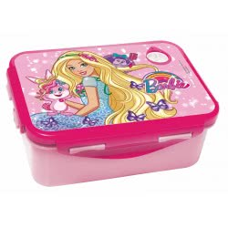 GIM Barbie Lunch Box For Use In Microwave Oven 571-15265 5204549117334