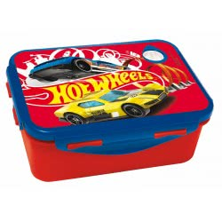 GIM Hot Wheels Lunch Box For Use In Microwave Oven 571-83265 5204549117372