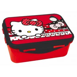 GIM Hello Kitty Lunch Box For Use In Microwave Oven 557-91265 5204549117280