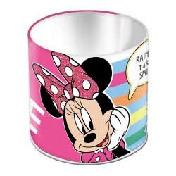 MUST Minnie Mouse Μολυβοθήκη Μεταλλική Στρόγγυλη Μίνι 10X11εκ. - Ροζ 000562218 5205698430848