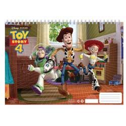 Diakakis imports Toy Story Μπλοκ Ζωγραφικής 40 Φύλλα Με Αυτοκόλλητα, Στένσιλ - 2 Σχέδια 000562232 5205698421259