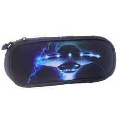Diakakis imports Mood Pencil Case UFO Blue 000580217 5205698445996
