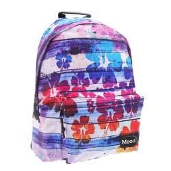 Diakakis imports MOOD Sigma School Backpack With Flowers 000580214 5205698445934