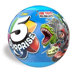 ZURU 5 Surprise Μπάλα Με 5 Εκπλήξεις Σειρά 2 - Μπλε 11807701 845218019600