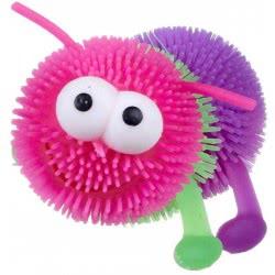 Gama Brands Squishy Puffer Ball Rainbow Caterpillar With Light 10763852 5038104638527